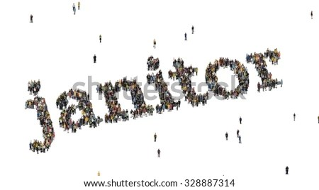 Janitor Word Crowd Above Stock Illustration 328887314 - Shutterstock