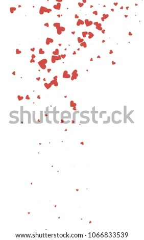 Royalty Free Stock Illustration of Light Red Vertical Abstract Small
