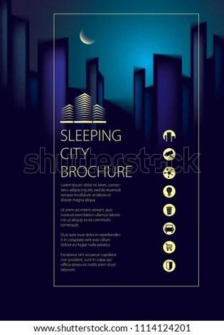 Royalty Free Stock Illustration of Night City Traveling Tourist
