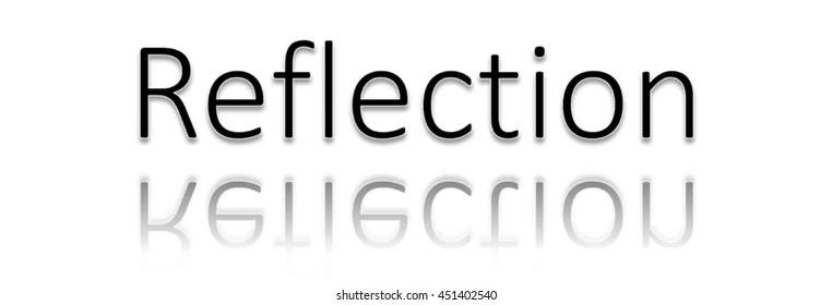 Reflections Word Clip Art Stock Illustration 451402558 - Shutterstock - word clip art