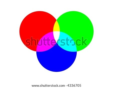 RGB Color Chart Stock Illustration 4336705 - Shutterstock