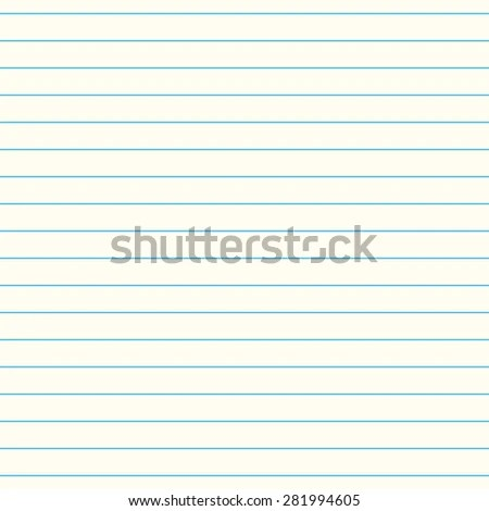 Sheet Paper School Letter Pattern Seamless Stock Illustration