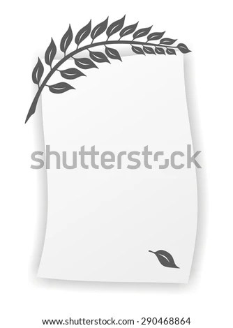 Royalty Free Stock Illustration of Simplified Twig Template Death