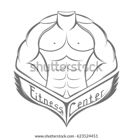 Royalty Free Stock Illustration of Sportsman Silhouette Character