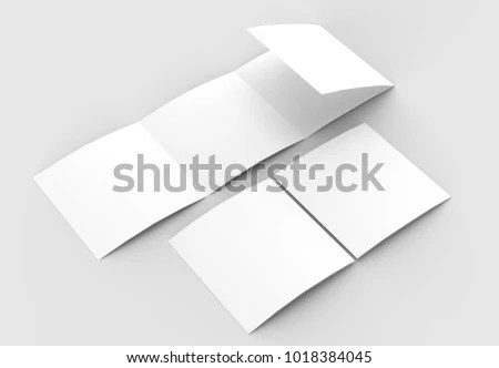 Royalty Free Stock Illustration of Square Four Folded 4 Fold
