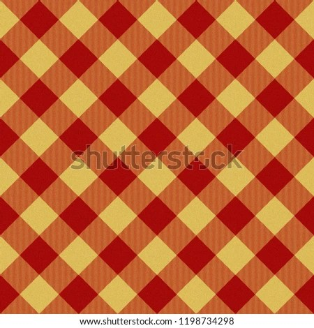 Thanksgiving Plaid Autumn Digital Paper Fall Stock Illustration