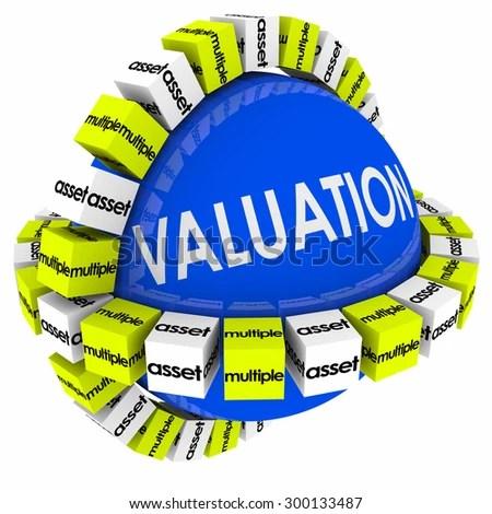 Valuation Sphere Company Business Evaluation Net Stock Illustration