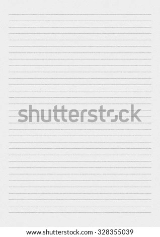 White Paper Lines Notepad Blank Sheet Stock Illustration 328355039
