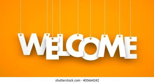 welcome word Images, Stock Photos  Vectors Shutterstock