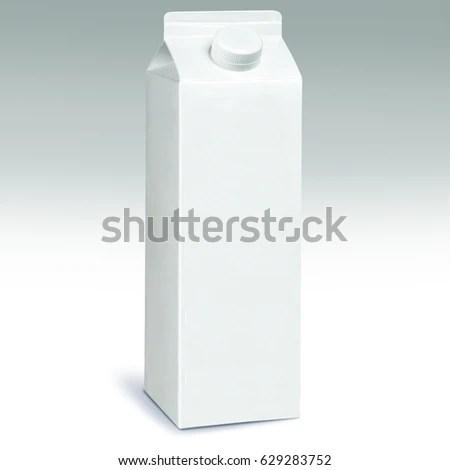 1 Liter Milk Carton Pack Template Stock Photo (Edit Now) 629283752
