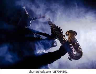 Saxophone Girl Wallpapers Jazz Silhouette Bilder Stockfotos Amp Vektorgrafiken
