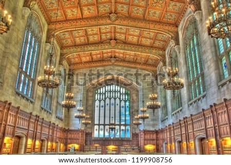 Ann Arbor Michigan USA July 2012 University Stock Photo (Edit Now