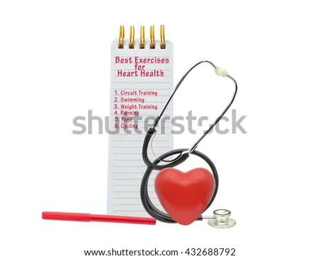 Best Exercises Heart Health Circuit Training Stock Photo (Edit Now