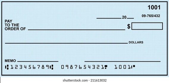 Fake Account Blank Check Images, Stock Photos  Vectors (10 Off