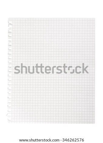 Blank Notebook Paper Lined Background Texture Stock Photo (Edit Now