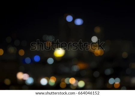 Bokeh Photography Background HD Abstract Blur Stock Photo (Edit Now