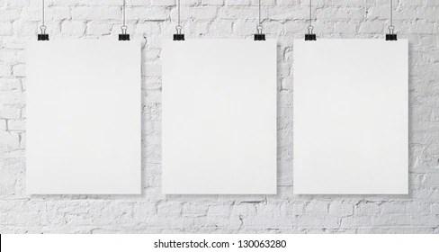 Blank Poster Images, Stock Photos  Vectors Shutterstock