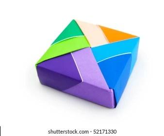 Origami Box Shutterstock