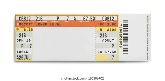 concert ticket Images, Stock Photos  Vectors Shutterstock