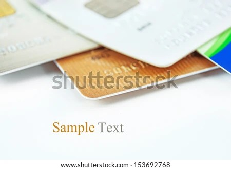 Credit Cards Sample Text Stock Photo (Edit Now) 153692768 - Shutterstock