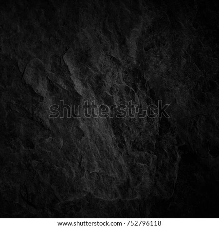 Dark Gray Slate Background Natural Black Stock Photo (Edit Now