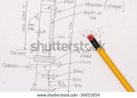 Engineers Calculation Pressure Vessel Stock Photo (Edit Now