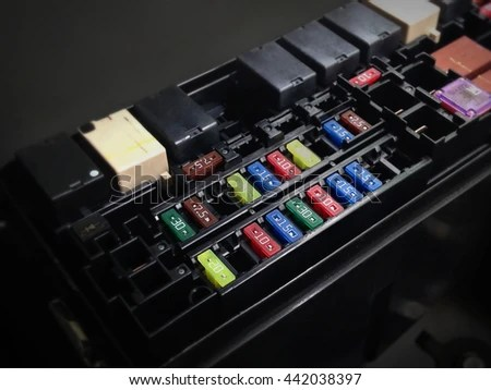 Focus Car Fuse Box Low Key Stock Photo (Edit Now) 442038397