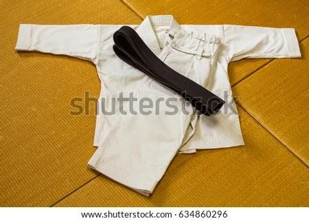 Gi Martial Arts Uniform Karate Judo Stock Photo (Edit Now) 634860296
