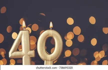 3d Galactic Wallpaper 40th Birthday Images Stock Photos Amp Vectors Shutterstock