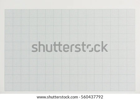 Graph Paper Blank Form Grid Paper Stock Photo (Edit Now) 560437792