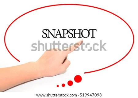 Hand Writing SNAPSHOT Abstract Background Word Stock Photo (Edit Now