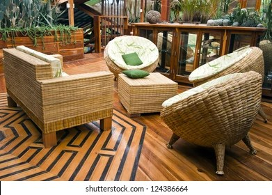 Bamboo Furniture Images Stock Photos Vectors Shutterstock