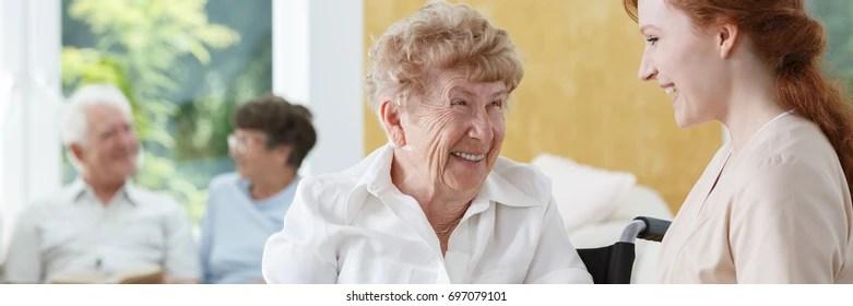 nursing home volunteer Images, Stock Photos  Vectors Shutterstock