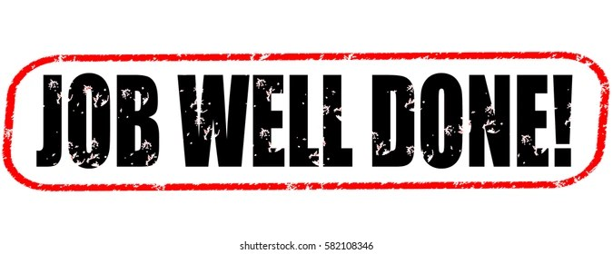 Job Well Done Icon Images, Stock Photos  Vectors Shutterstock