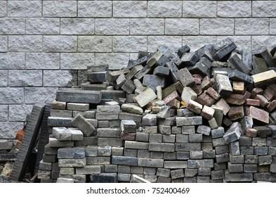Free 3d Pile Of Bricks Wallpaper Interlock Brick Images Stock Photos Amp Vectors Shutterstock