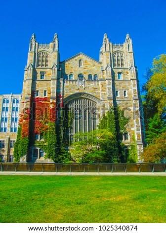 Library University Michigan Law School Ann Stock Photo (Edit Now