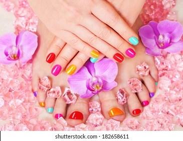 Manicure Pedicure Images Stock Photos Vectors