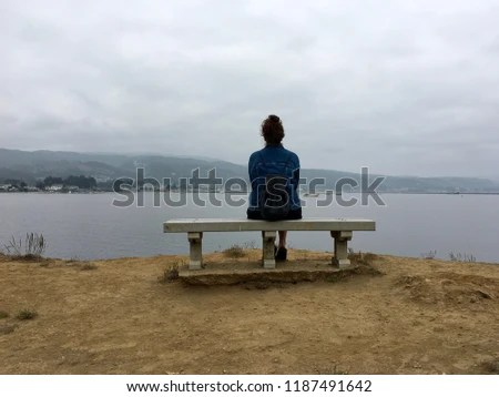 Ocean Serenity Scene Calm Beautiful Energy Stock Photo (Edit Now