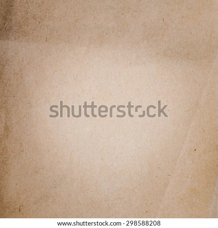Old Blank Paper Background Brown Paper Stock Photo (Edit Now