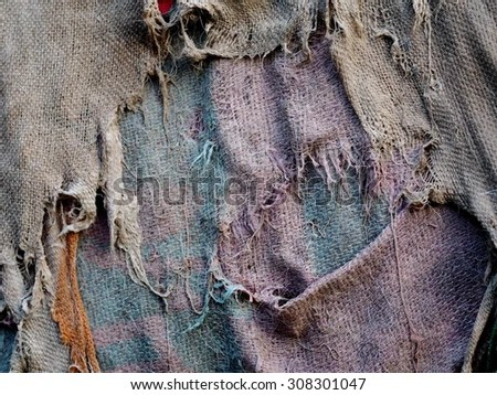 Old Dirty Wet Tatters Rag Cloth Stockfoto Rediger Nu