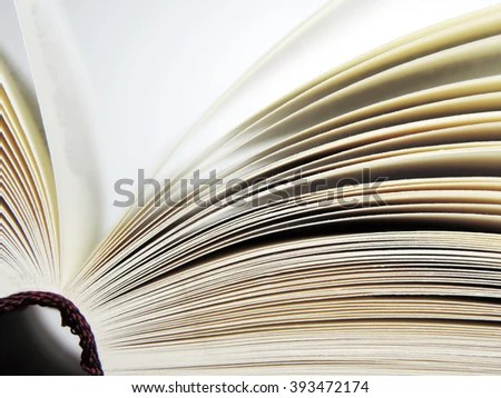 Open Book Close Shot Book Pages Stock Photo (Edit Now) 393472174