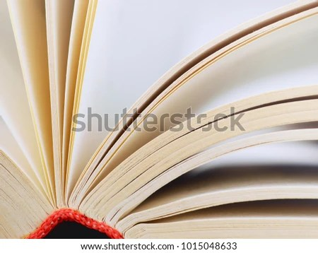 Open Book Closeup Books Pages Stock Photo (Edit Now) 1015048633