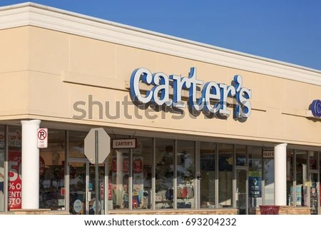 Philadelphia Pennsylvania Aug 8 2017 Carters Inc Stock Photo (Edit - carters inc