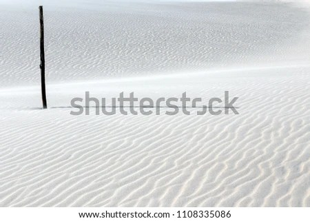 Point Reference Immensity Gigantic Dune Summertime Stock Photo (Edit