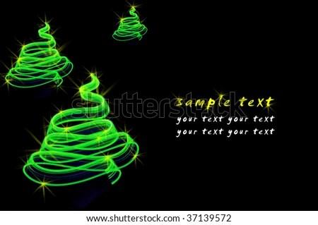 Sample Wish Christmas Tree Stock Photo (Edit Now) 37139572
