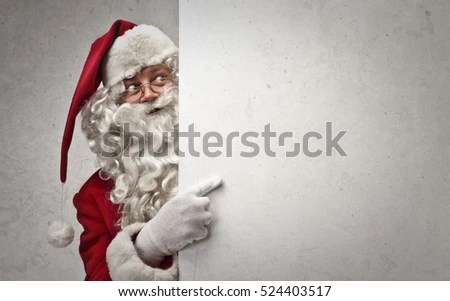 Santa Checking On You Stock Photo (Edit Now) 524403517 - Shutterstock