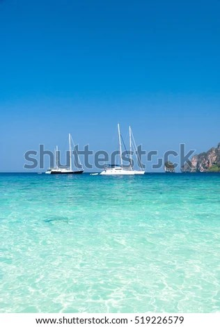 Sea Scene Serenity Shore Stock Photo (Edit Now) 519226579 - Shutterstock
