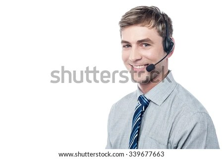 Smart Tech Support Professional Stock Photo (Edit Now) 339677663