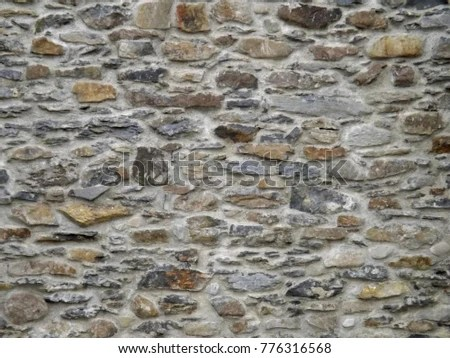 Stone Masonry Wall Background Texture Stone Stock Photo (Edit Now