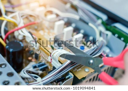 Repair Of Electrical Equipment And Wiring Design For Business Stock